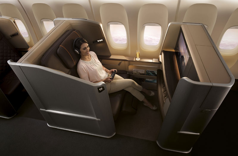 Singapore Airlines: Neue First Class in der B777-300ER