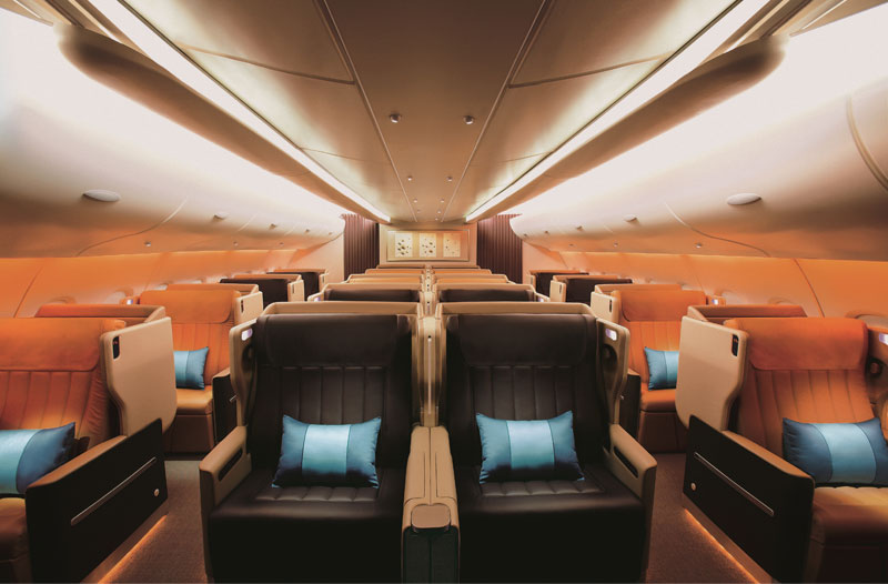 Singapore Airlines: Alte Business Class im Airbus A380 und der Boeing B777-300ER