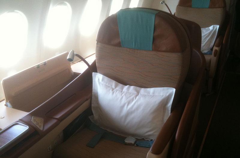 Oman Air Vornesitzen Ch
