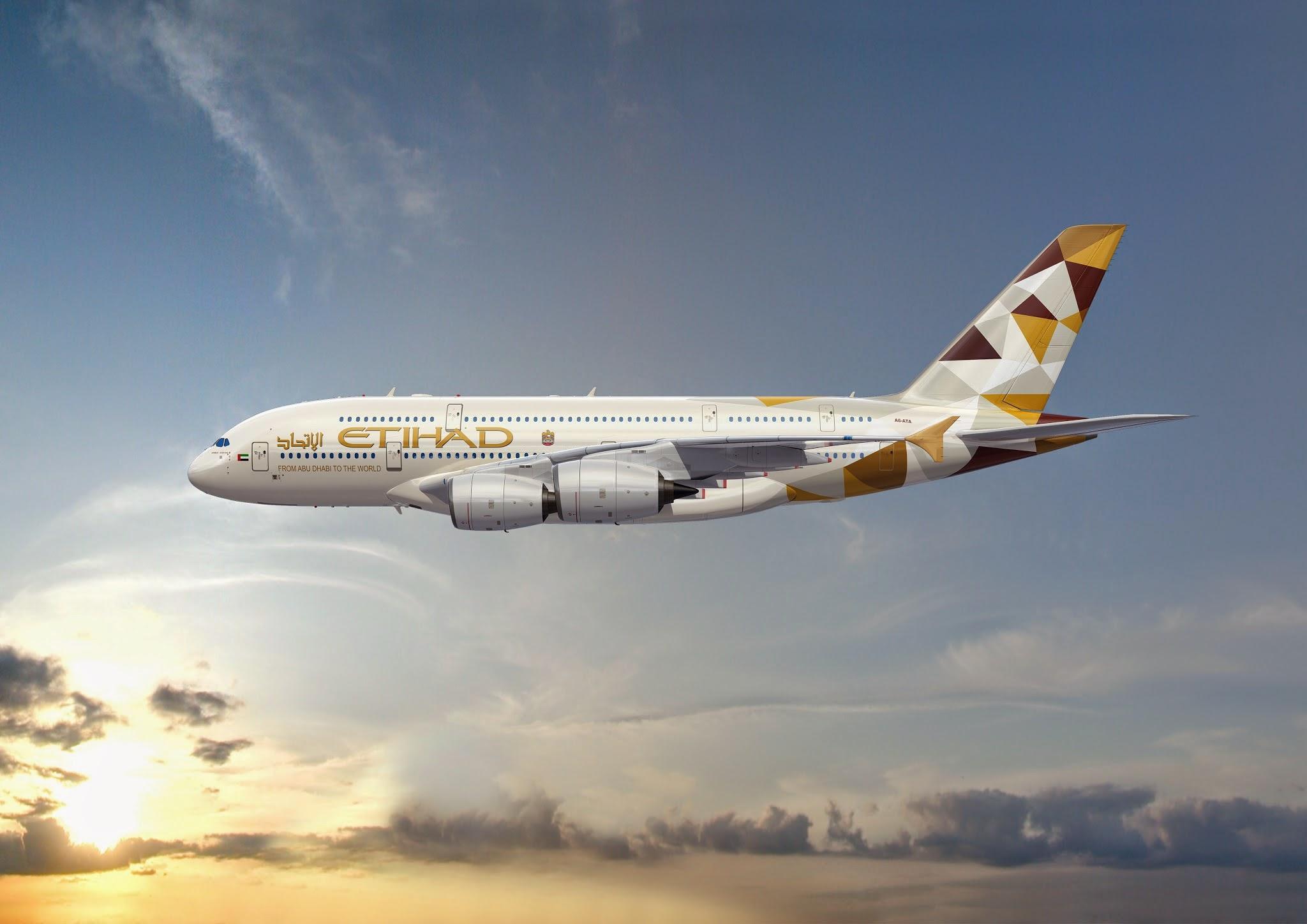Etihad zählt zu den zehn besten Airlines der Welt und zeichnet sich durch besonderen Luxus aus.
