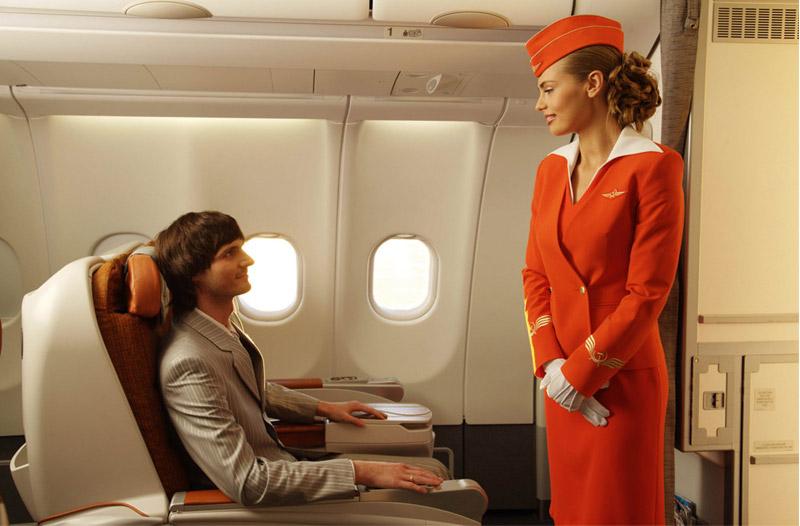Aeroflot Vornesitzen Ch