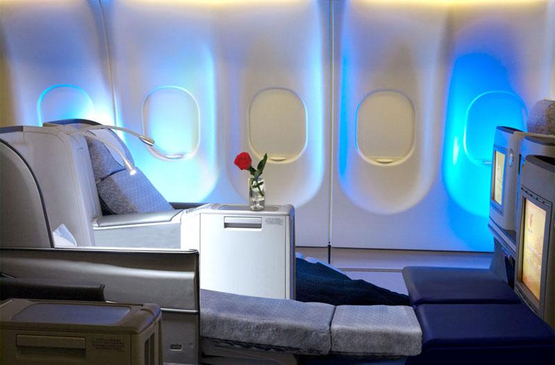 Business Class in der A330-200