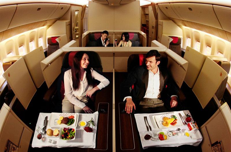 Air China First Suite in der B777-300ER