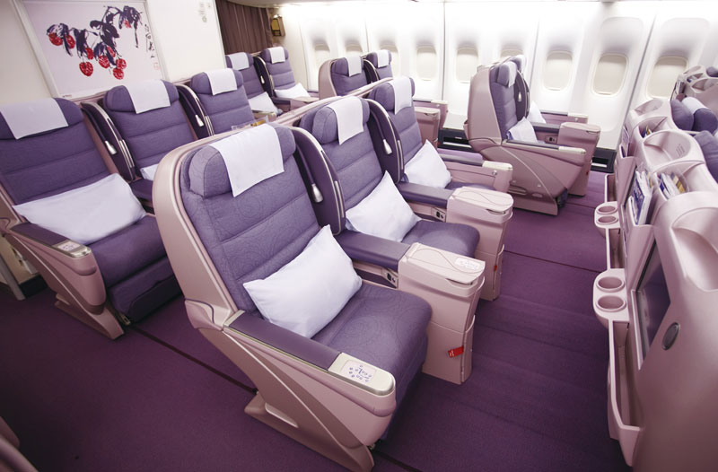 China Airlines: Business Class in der B747-400