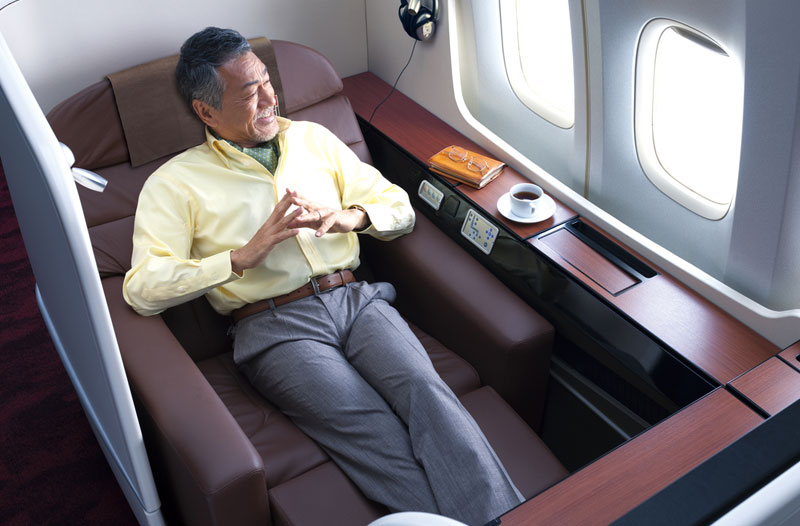JAL Suite in der Boeing 777-300ER