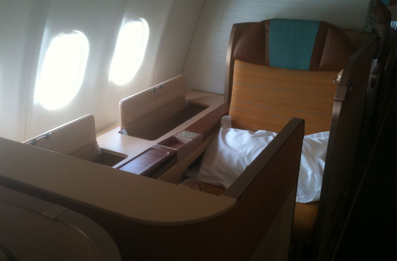 Oman Air First Class im A330