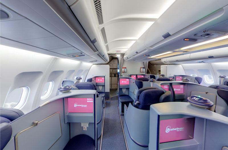 Air Berlin Vornesitzen Ch